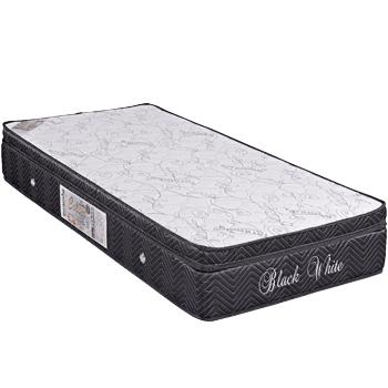 Colors Line Black Silver 0.88 x 1.88 x 0.30 com Vibromassagem