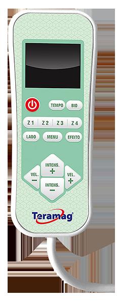 Controle Com Fio do sistema vibro-massagem  8M  para colchão casal e fonte alimentadora de energia
