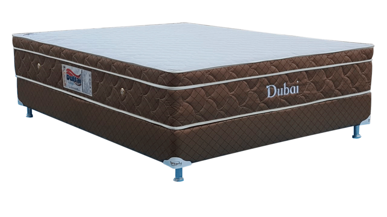 Colchão Dubai Molas Pocket  King Size 1,93 x 2,03 x 55 com Box