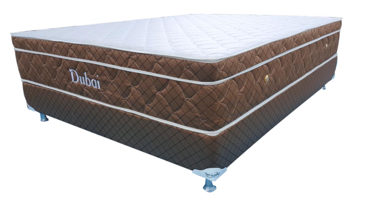 Colchão Dubai King Size Convencional 1,86 x 1,98 x 23 com Base Box