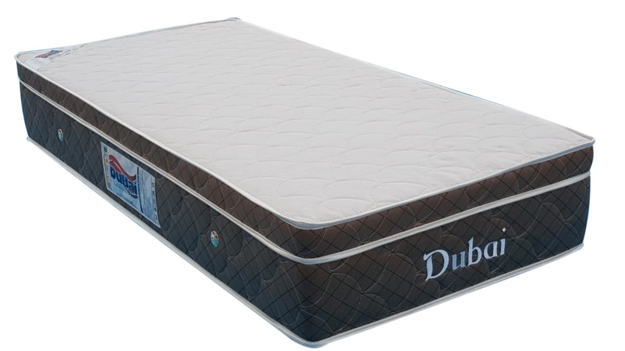 Colchão Dubai solteiro Molas Pocket  0,88 x 1,88 x 25 cm