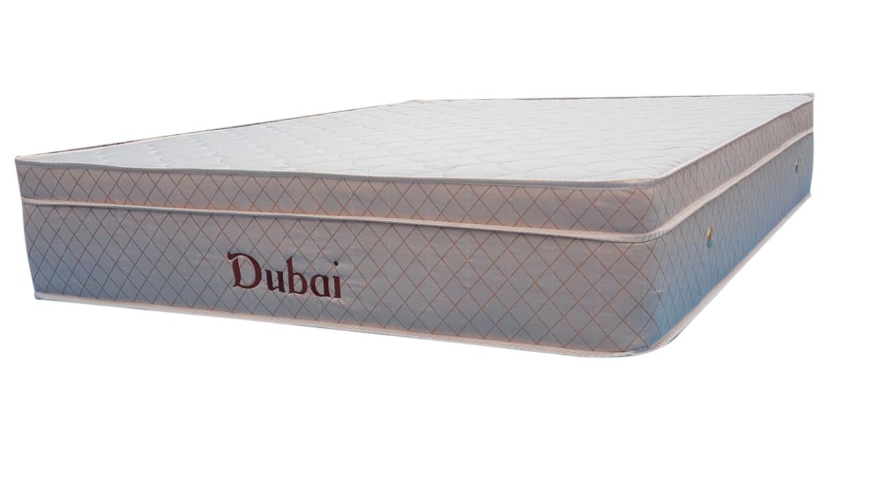 Colchão Dubai Infra com vibro massagem  casal Super King 1,93 x 2,03 x 23 cm