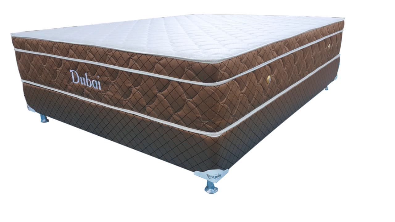 Cama unibox Dubai 1,63 x 2,03 x 55 cm com Massagem