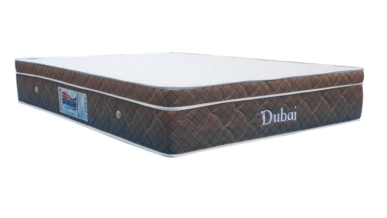 DUBAI CONVENCIONAL Casal Super King Com Vibro massagem 1,93 x 2,03 x 25 cm