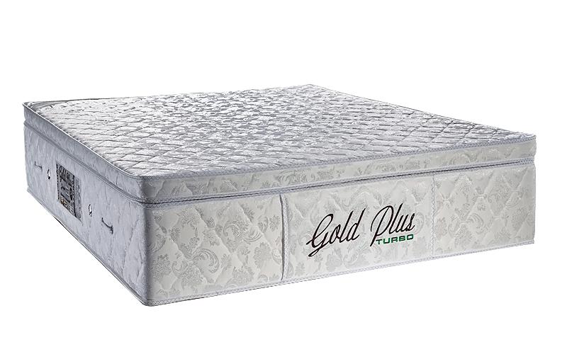 Gold plus Queen Casal padrão 1.58  x 1.98  x 35 cm com vibro massagem