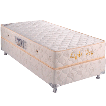 Light Pop 0.88 x 1.88 x 0.53 com Vibromassagem e Base Box