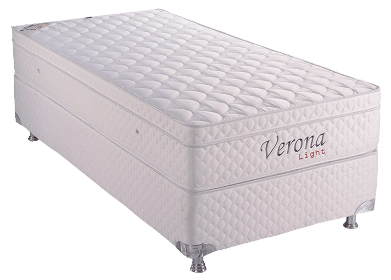 Verona Light 0.78 x 1.88 x 0.53 com Vibromassagem e Base Box