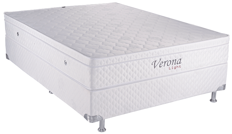 Verona Light 1.38 x 1.88 x 0.53 com Vibromassagem e Base Box