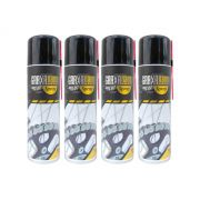 Kit com 4 Graxas Nano Ivory SP2- Alta Performance - Spray - 300ml