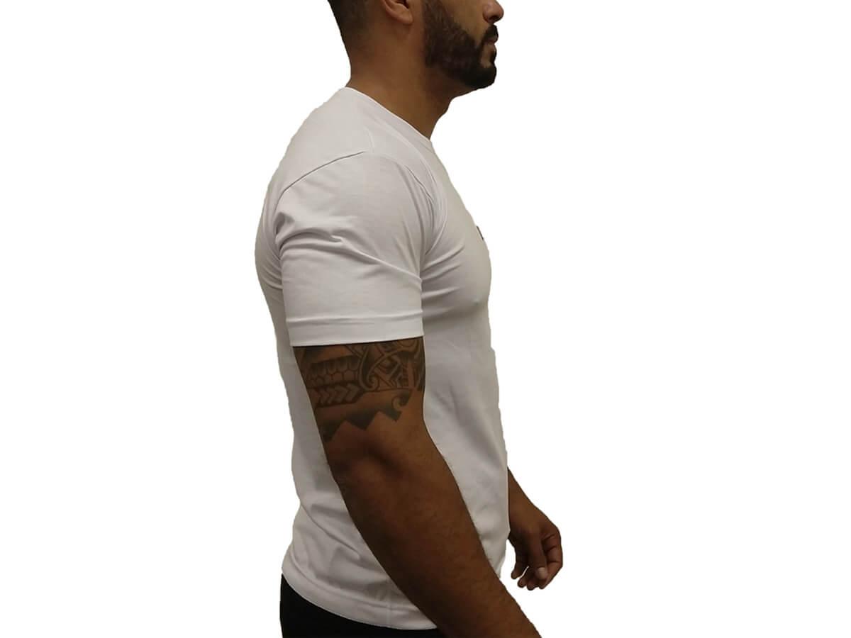 Camiseta Branca King 4x4 - Manga Curta