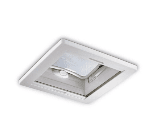 Claraboia Dometic Midi Heiki | 400 x 400 mm | Acompanha mosquiteiro e Blackout