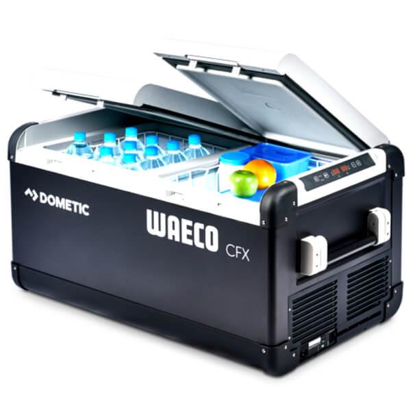 Geladeira e Freezer Portátil Coolfreeze c/ WIFI   Dualzone   Dometic CFX 95 DZW  85 Litros   Até -22ºC   Compressor
