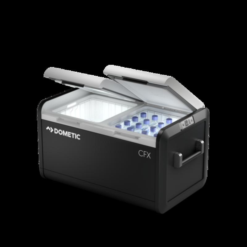 Geladeira e freezer Dometic CFX3 75 DZ - 12/24V e 110/220V
