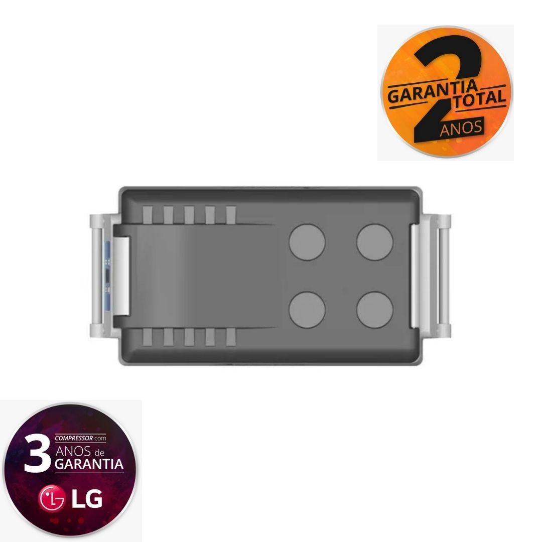 Geladeira Portátil Automotiva Dreiha CBX 45 Litros -  Quadrivolt