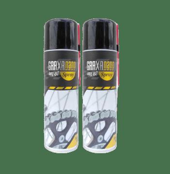 Kit com 2 Graxas Nano Ivory SP2- Alta Performance - Spray - 300ml