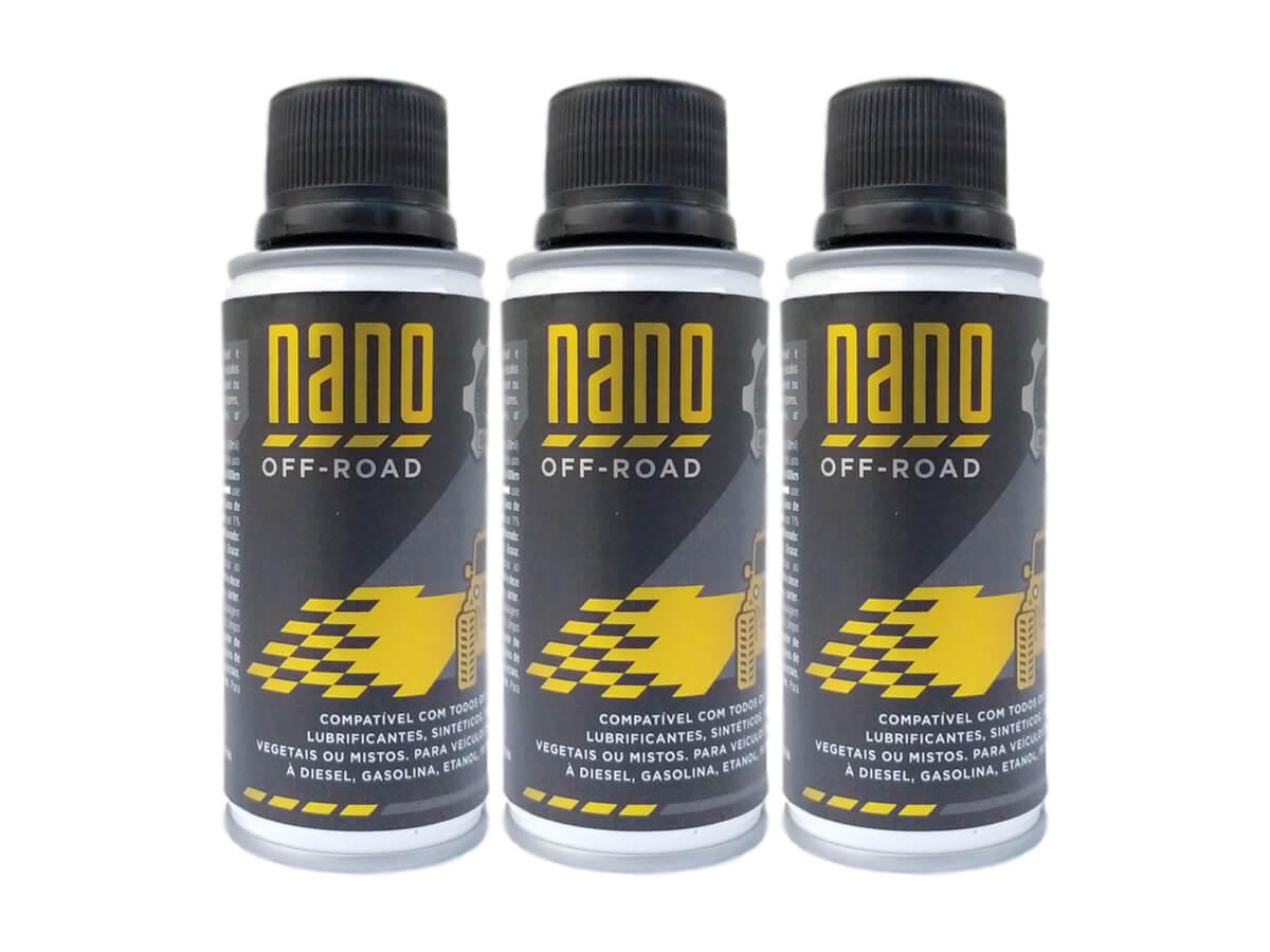 Kit com 3 Nano OFF-ROAD - 3ª Geração - 120ml