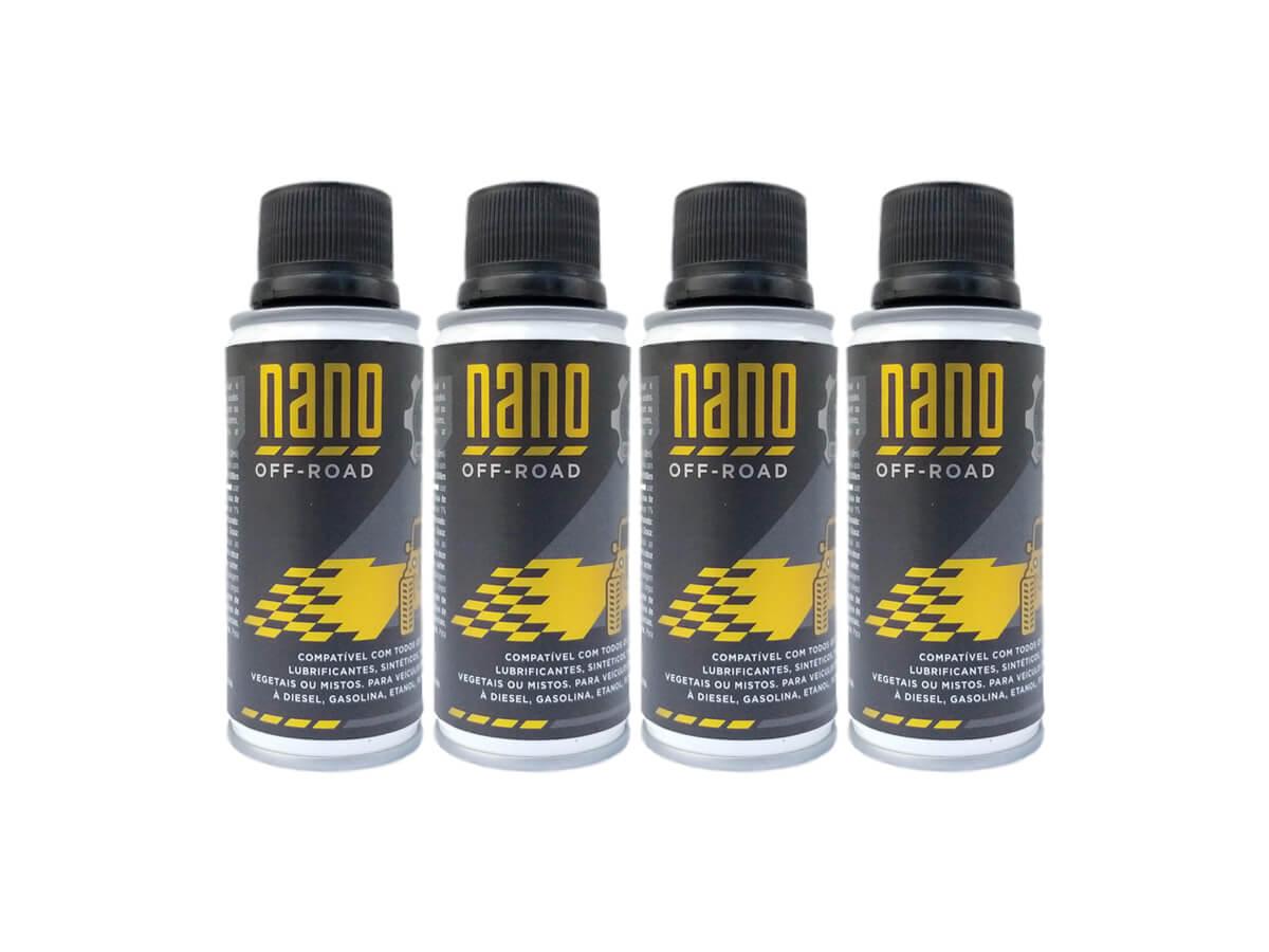 Kit com 4 Nano OFF-ROAD - 3ª Geração - 120ml