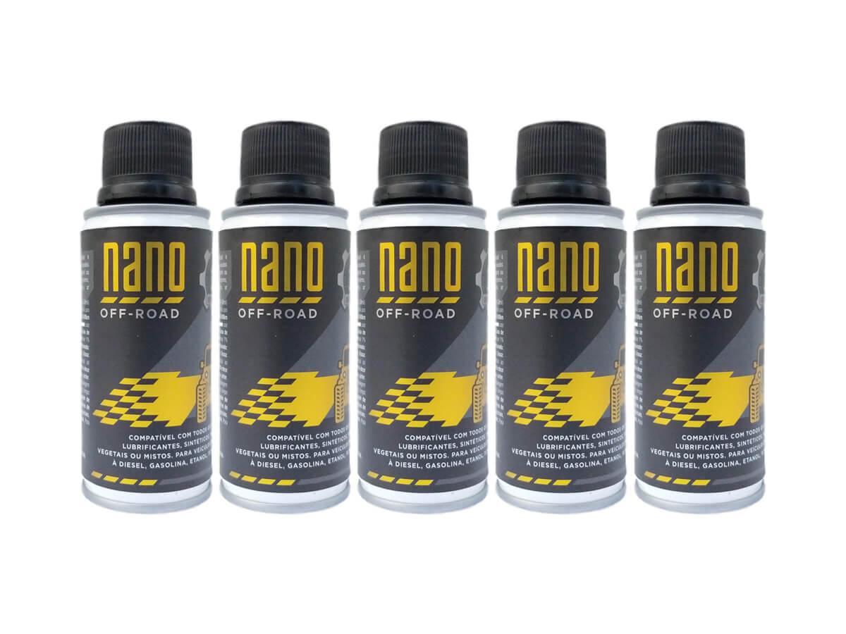 Kit com 5 Nano OFF-ROAD - 3ª Geração - 120ml