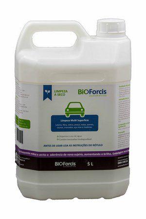 Produto de Limpeza Automotiva Profissional BioForcis 5ltr