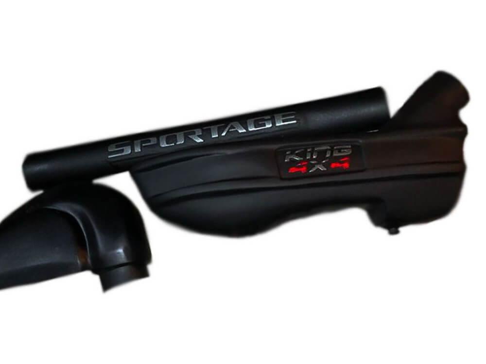 Snorkel Para Kia Sportage 95/2003 / King 4x4 - Lado Esquerdo