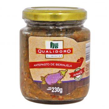 Antepasto de Berinjela (230g) - Qualidoro
