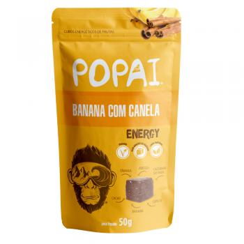 Cubo Energético Sabor Banana com Canela (50g) - Popai