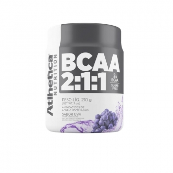BCAA 2:1:1 Uva (210g) - Atlhetica Nutrition