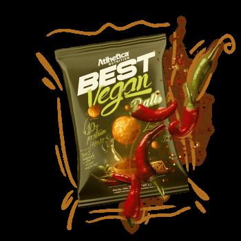 Best Vegan Balls 10g de Proteína Sabor Pimenta & Cúrcuma (35g) - Atlhetica Nutrition