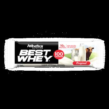 Best Whey Bar Original Leite Barrinha Barra - Atlhetica Nutrition