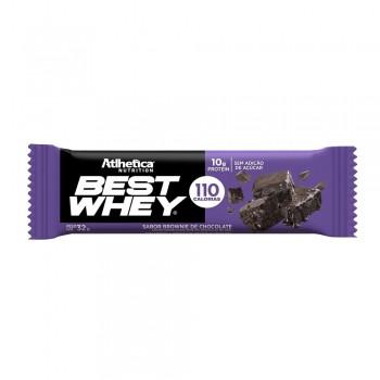Best Whey Bar Brownie Chocolate Barrinha Barra - Atlhetica Nutrition