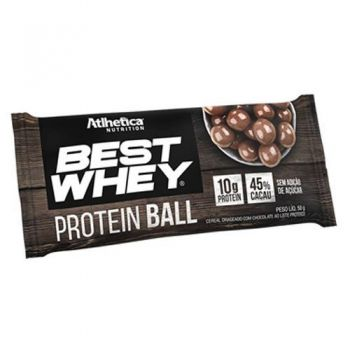 Best Whey Protein Ball Chocolate ao Leite (50g) - Atlhetica Nutrition
