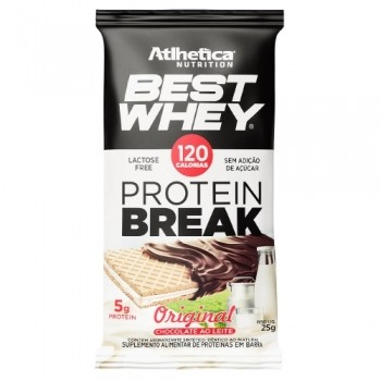 Best Whey Protein Break Sabor Original Chocolate ao Leite (25g) - Atlhetica Nutrition