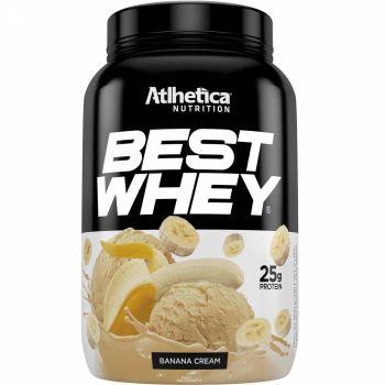 BEST WHEY Sabor Banana Cream (900g) - Atlhetica Nutrition