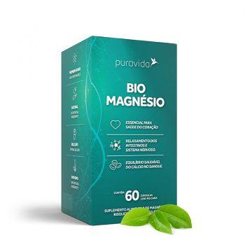 Bio Magnésio (60 Cápsulas) - PuraVida