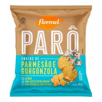 Parô Snacks de Parmesão e Gorgonzola (40g) - Flormel