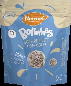 Bolinhas de Doce de Leite com Coco (60g) - Flormel