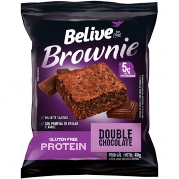 BROWNIE PROTEIN DOUBLE CHOCOLATE (40g) - BELIVE