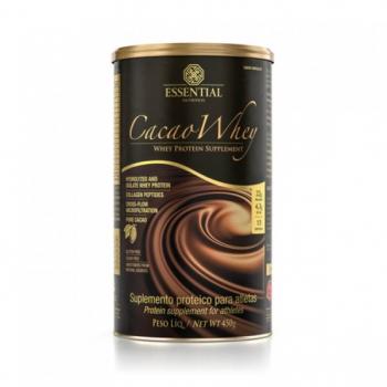 CACAO WHEY Sabor Chocolate (450g) - Essential Nutrition