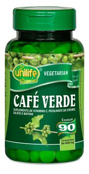 Café Verde  90 Cápsulas (400mg) - Unilife