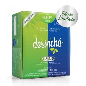 Chá Desinchá Dia & Noite - 60 Sachês