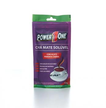 Chá Mate Açai com Pimenta Caiena (100g) - Power1One