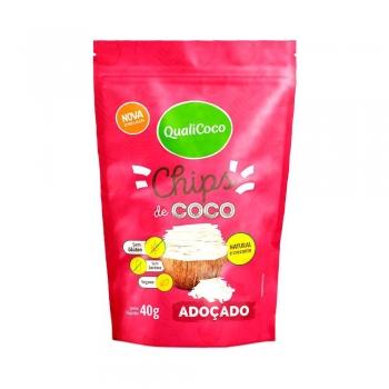 Chips de Coco Adoçado (40g) QualiCoco