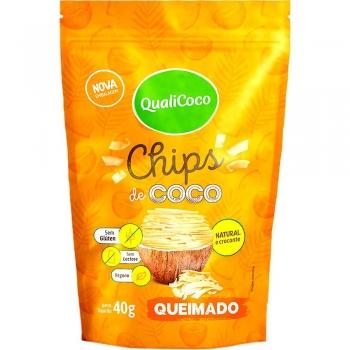 Chips de Coco Queimado (40g) QualiCoco