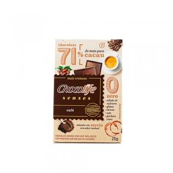 Chocolife Senses 71% Cacau Café (25g) - Chocolife