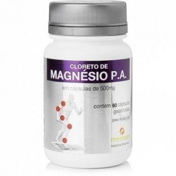 Cloreto De Magnésio 60 Cápsulas Imunidade 500mg - Meissen