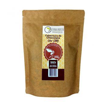 Cobertura de Chocolate Low Carb Sem Culpa (200g) - Dona Enxuta