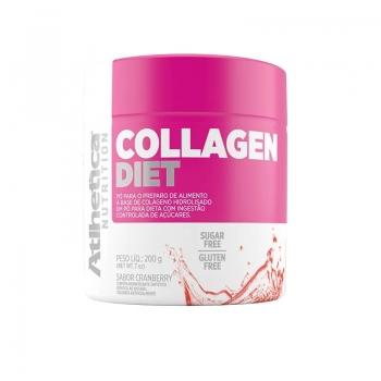 Colágeno Diet Sabor Cranberry (200g) -  Atlhetica Nutrition