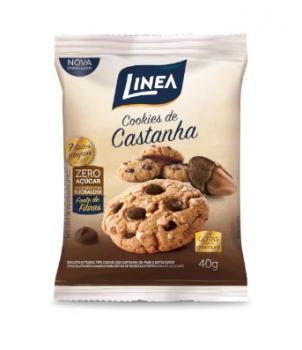 Cookie Castanha Do Pará (40g) - Linea