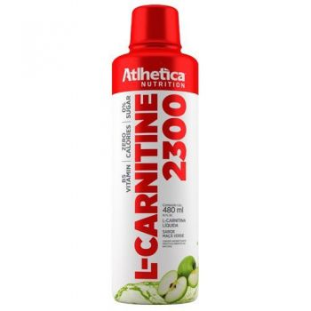 L-CARNITINE 2300 Maçã Verde (480ml) - Atlhetica Nutrition