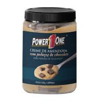 Creme de Amendoim com Pedaços de Chocolate (1kg) - Power1One